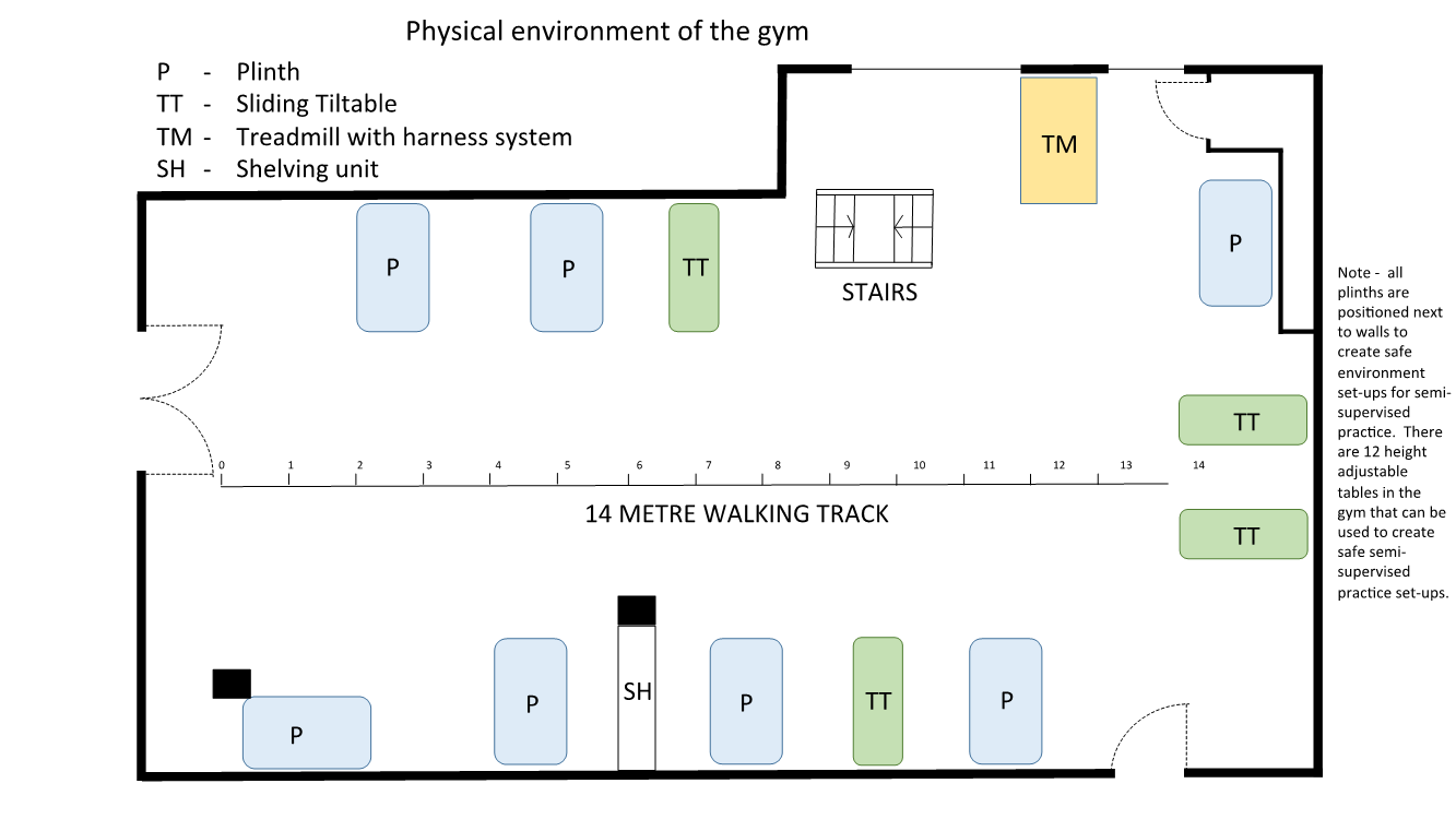 Physical Environment of the Gym